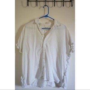 Madewell Frill Shirt